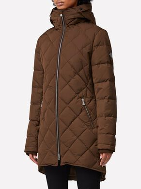 RADIATOR DRESSED POLY PARKA COAT