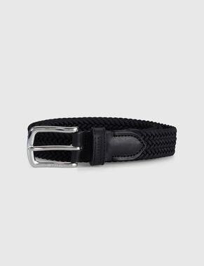 ELASTIC BRAID BELT