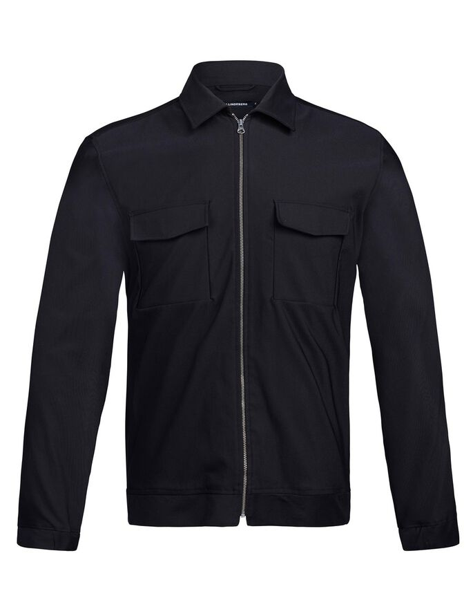 JASON ZIP SHIRT, Black, large