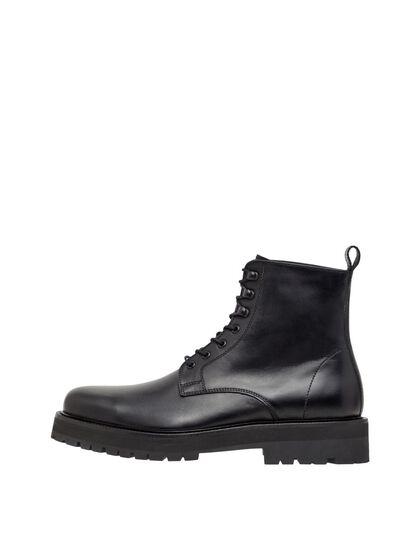 ARMY LEATHER BOOTS