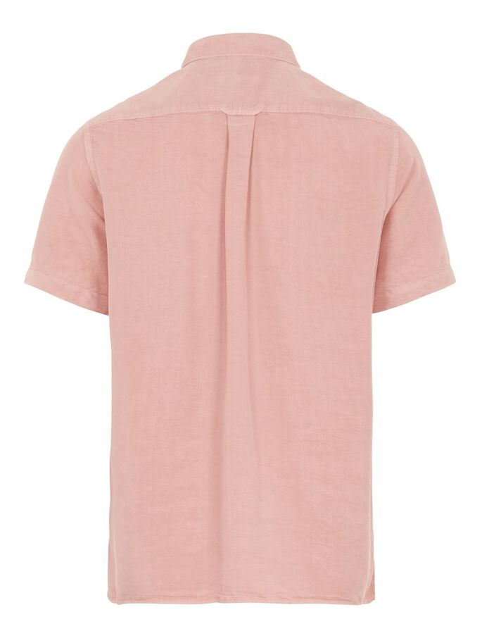 TENCEL REGULAR FIT HEMD, Rose Coppar, large
