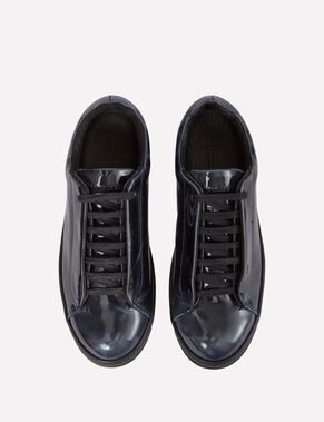 PEEKABOO ELECTRIC LEATHER SNEAKERS