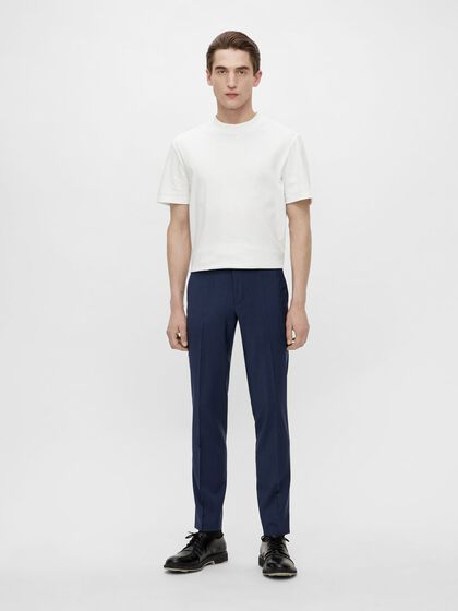 GRANT WOOL TROUSERS