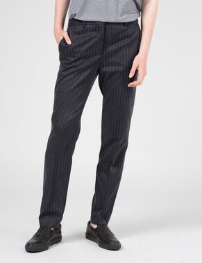 NOVA CUPRO STRIPE TROUSERS
