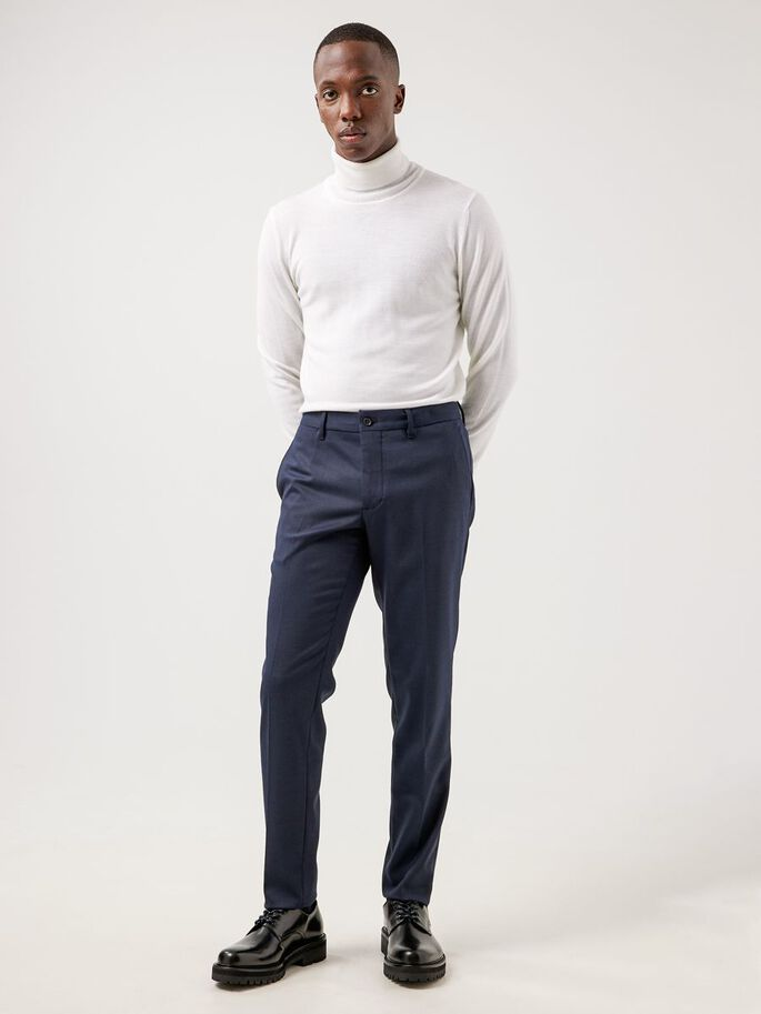 GRANT STRETCH TWILL TROUSERS, JL Navy, large