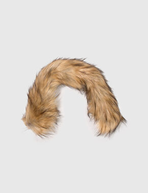 FAUX FURTRIM COLLAR