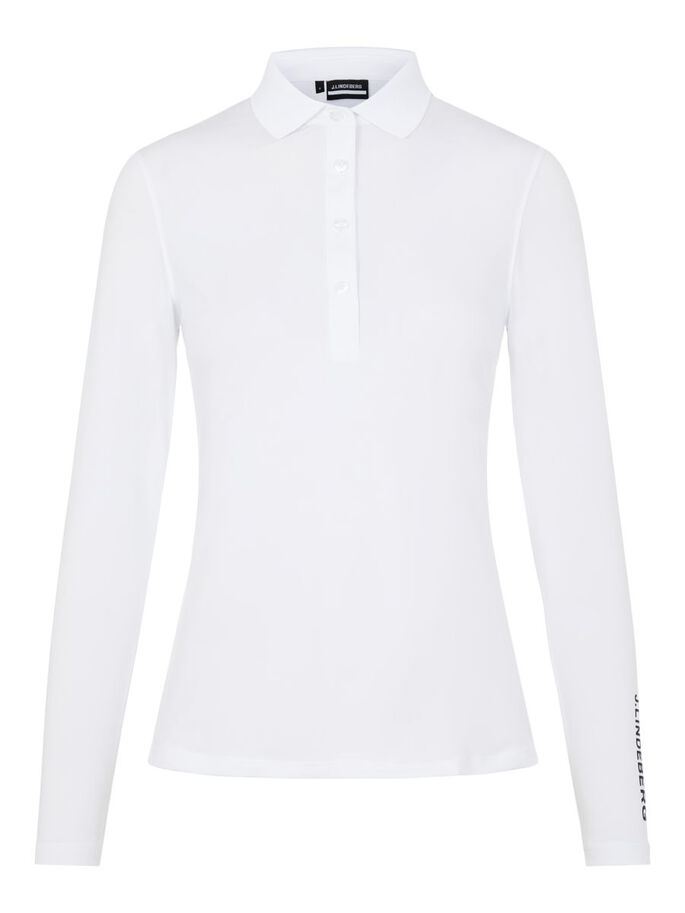 TOUR TECH POLO, White, large