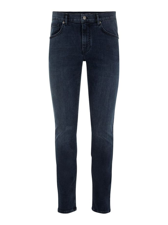 DAMIEN JEANS, Dark Blue, large