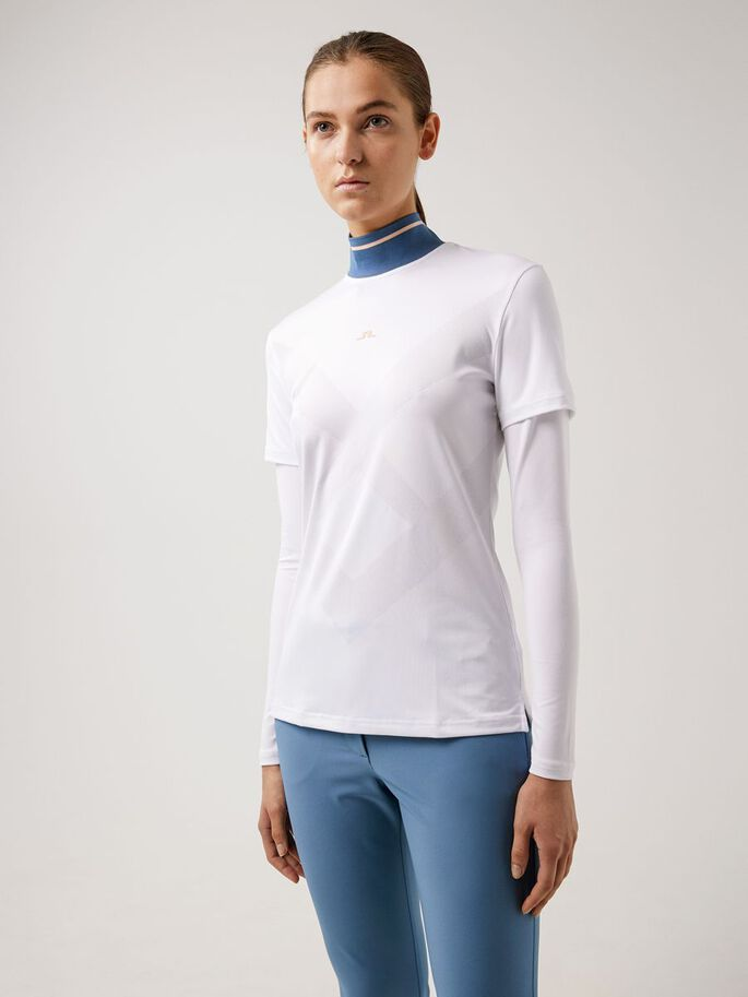 RIO LONG SLEEVED TOP, White, large