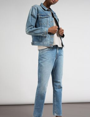 BELLA RETRO BLUE DENIM JACKET