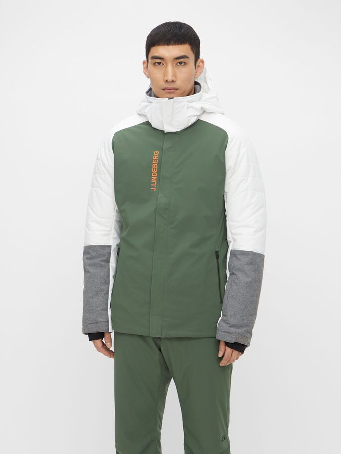 MIKE SKI JACKET, Thyme Green, large