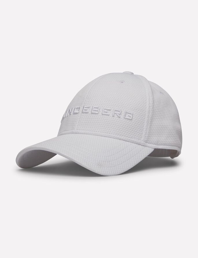 AIDEN PRO POLY- CAP, White, large