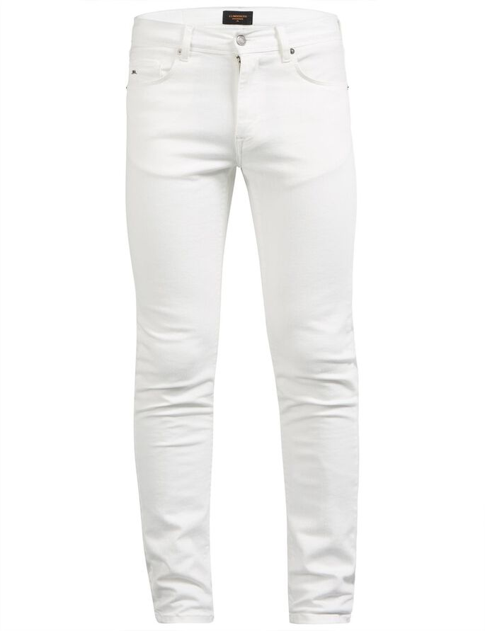 DAMIEN STAY HVID SKINNY FIT JEANS, Off White, large