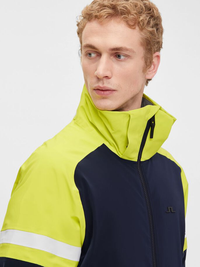 DAN SKI JACKET, Leaf Yellow, large