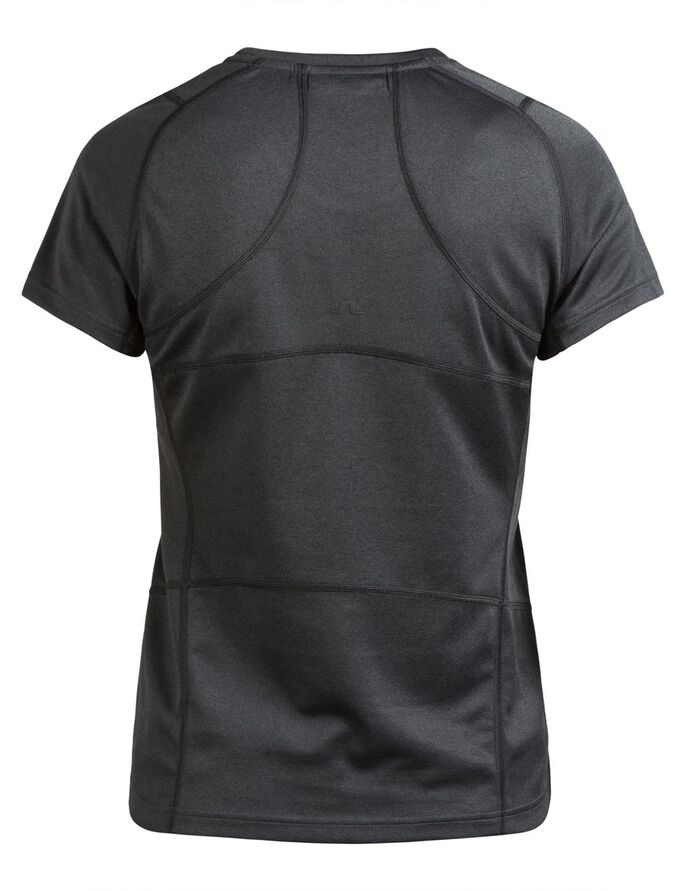 ACTIVE ELEMENTS JERSEY T-SHIRT, Black Melange, large