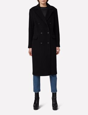 AMARIS BRUSHED WOOL COAT