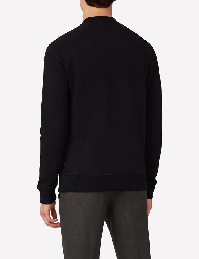 OLOF SOFT SWEAT SWEATSHIRT, Black, large