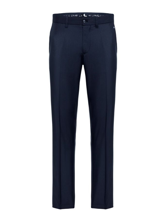 ELOF REG FIT LIGHT POLY TROUSERS, JL Navy, large