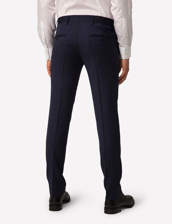 PAULIE FANCY WOOL SUIT TROUSERS, Dusty Blue, large