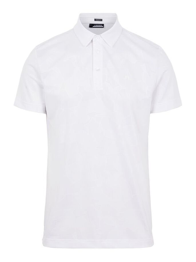 CLIDE REGULAR FIT POLO, White, large