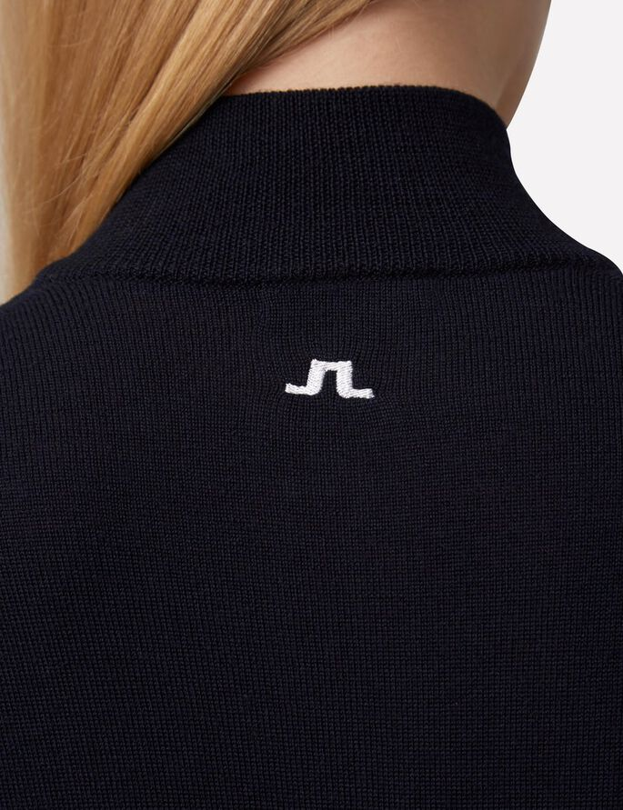 MIMI TRUE MERINO KNITTED PULLOVER, JL Navy, large