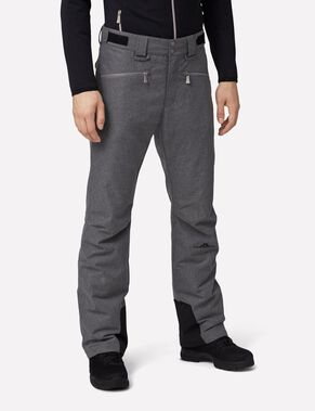 TRUULI  JL 2-LAYER GREY MEL SKI PANTS