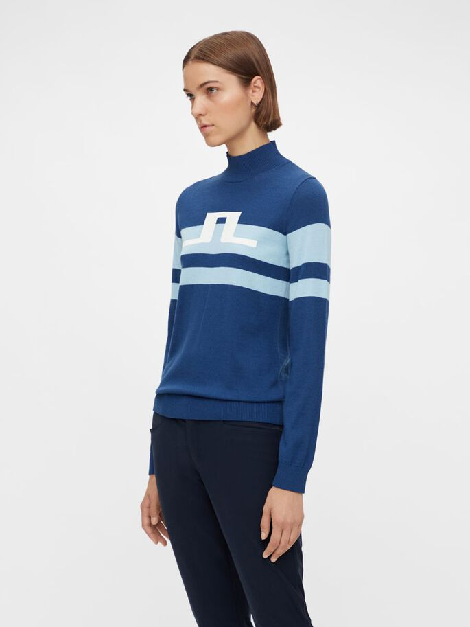ROSA PULLOVER, Midnight Blue, large
