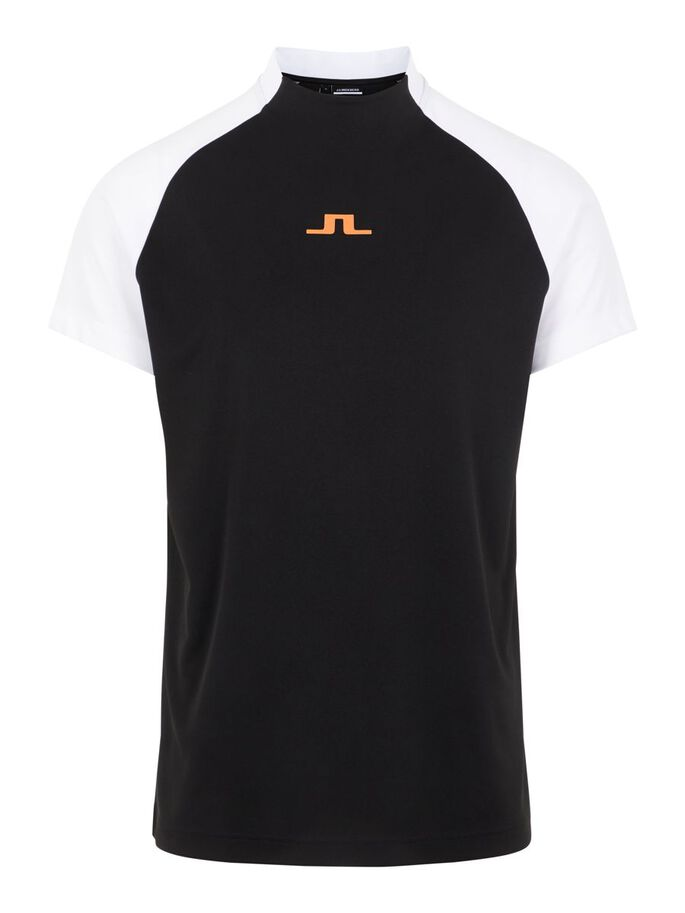 BENGA REGULAR FIT POLO SHIRT, Black, large