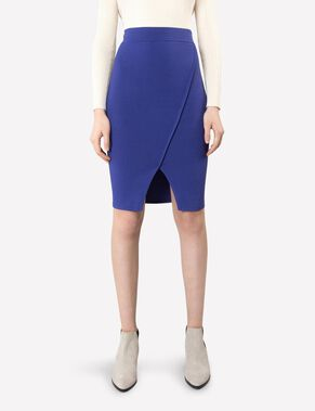 MAYURI SHARP KNIT PENCIL SKIRT