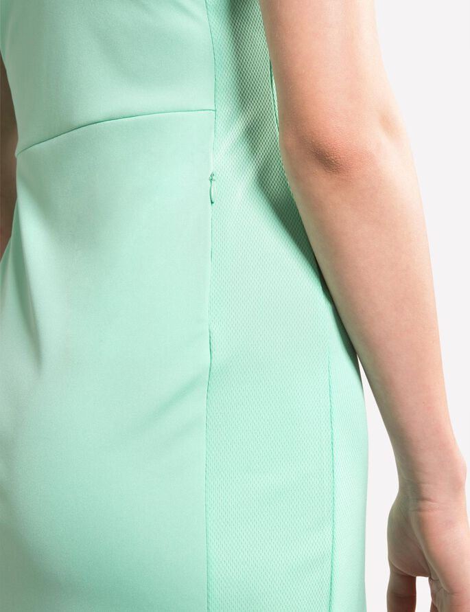 LOUISE TX JERSEY SLEEVELESS DRESS, Mint, large