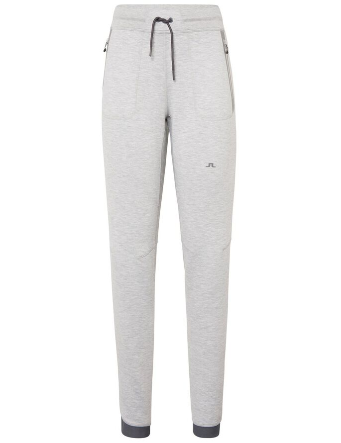 ATHLETIC TECH SWEAT PANTS, Stone Grey Melange, large