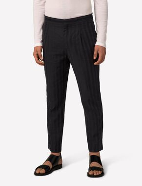 CROPPER FLUID STRIPE CHINOS