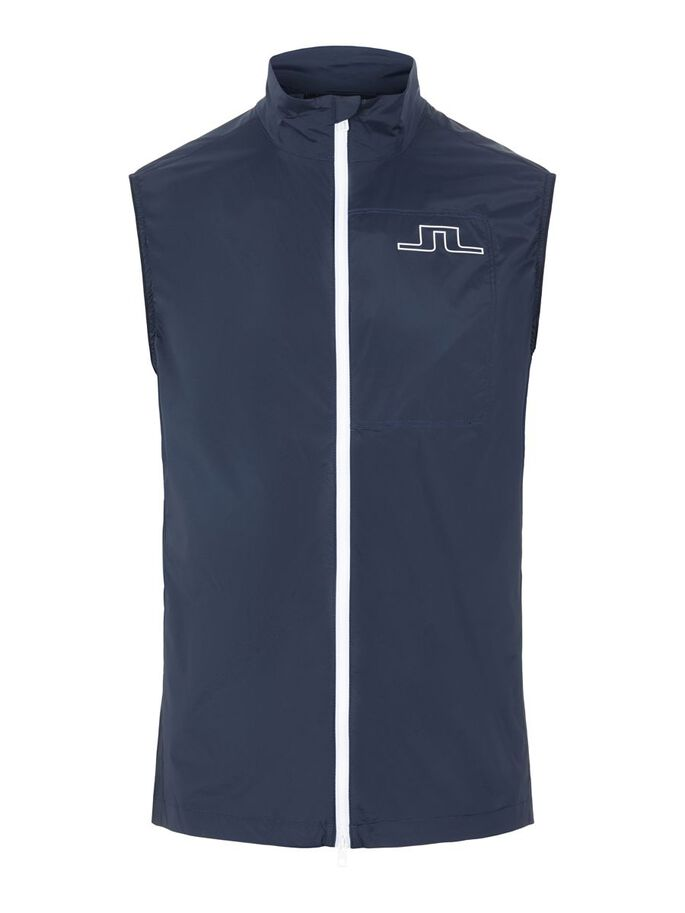 ASH LIGHT PACKABLE GILET, JL Navy, large