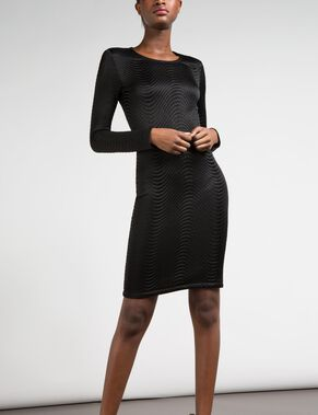LISBETH STRUCTURE WAVE DRESS