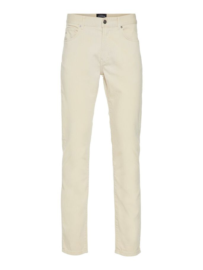 JAY SOLID STRETCH SLIM FIT JEANS, Pale Beige, large
