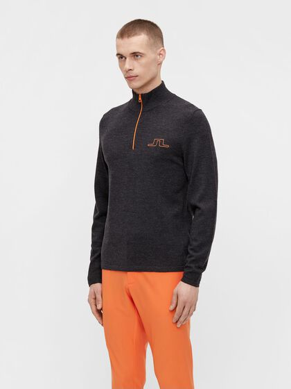 MAX ZIPPED PULLOVER
