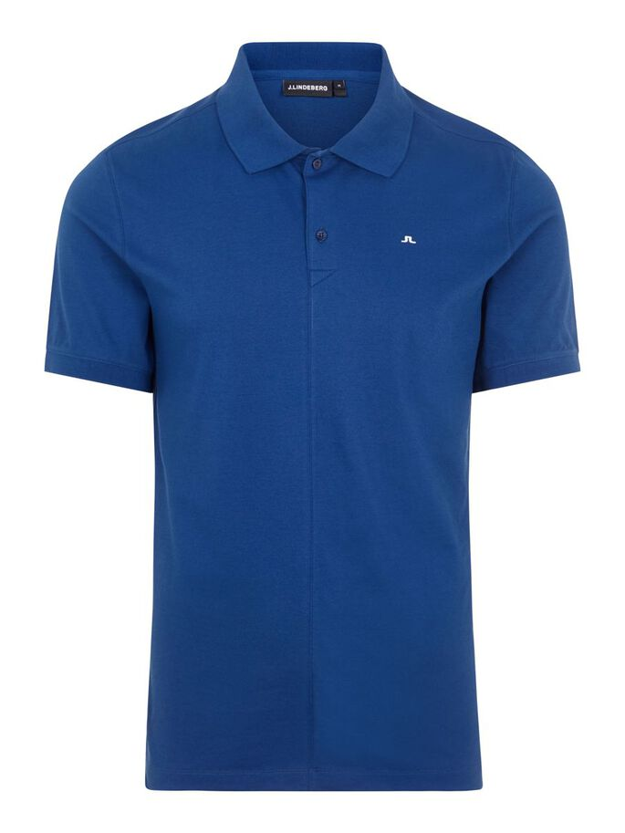 RUBI SLIM FIT POLOSHIRT, Midnight Blue, large