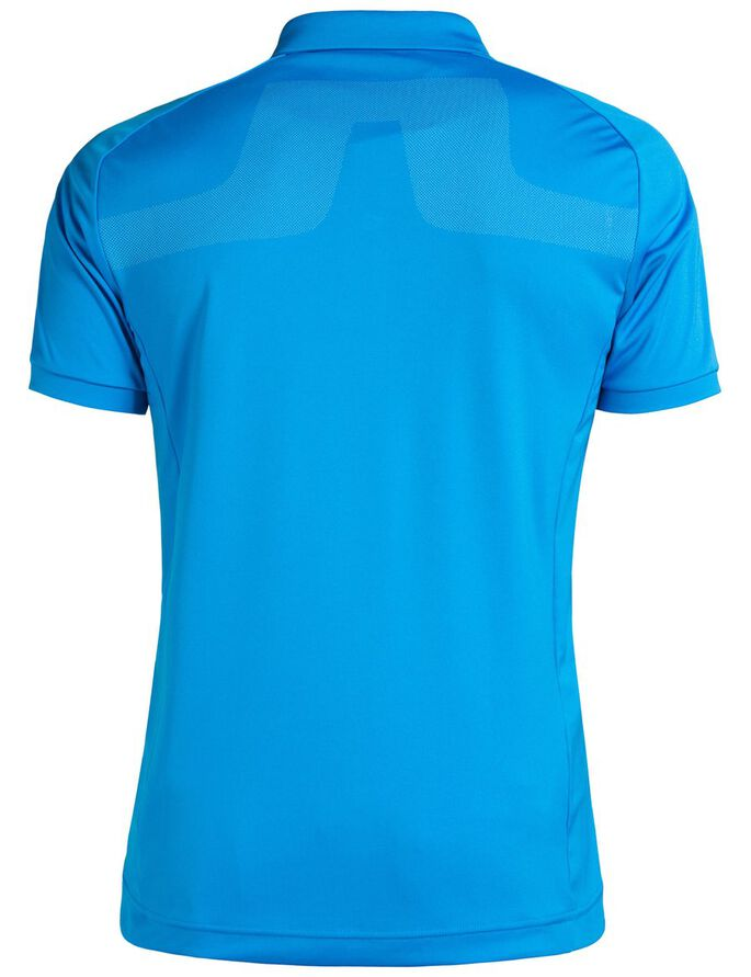 MAX SLIM TX JERSEY + COOLING POLO SHIRT, Electric Blue, large