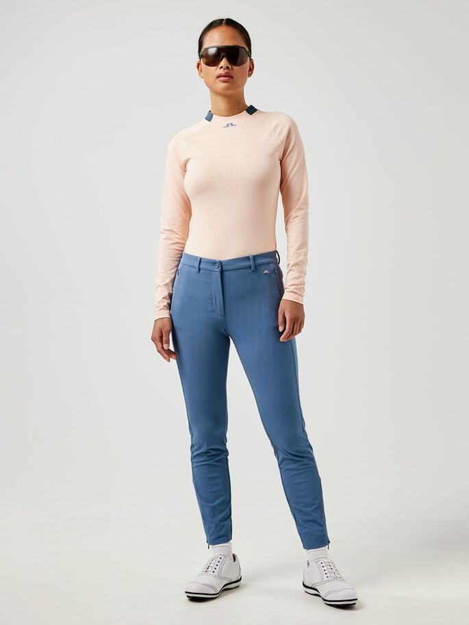 ELEONORE LONG SLEEVED TOP, Pale Pink, large