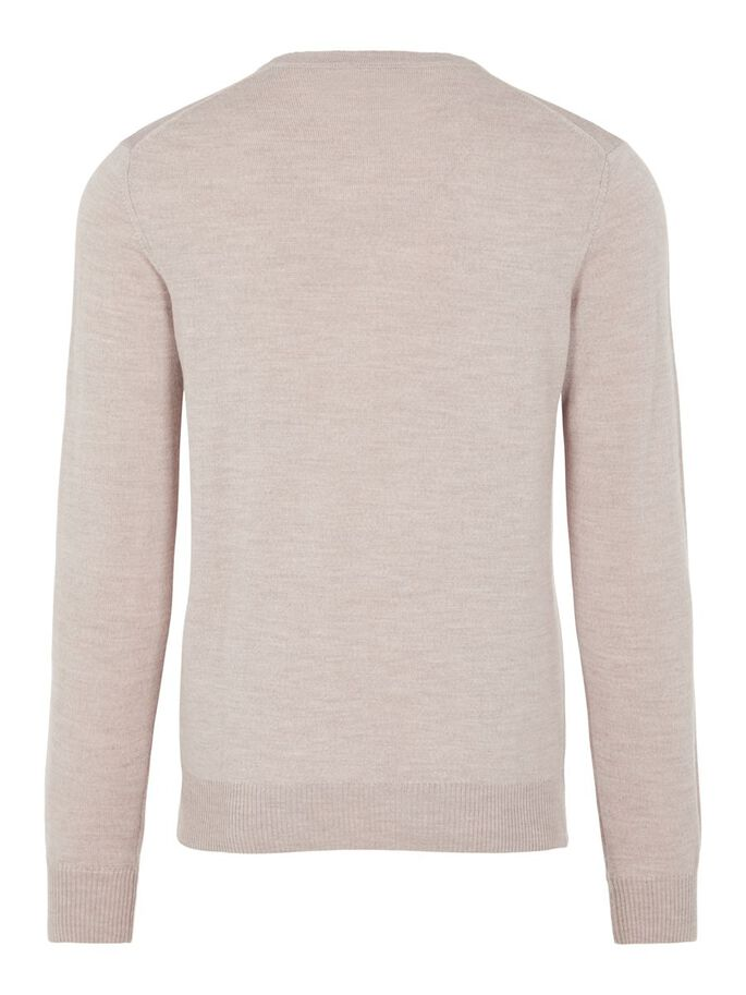 LYMANN SWEATER, Sand Beige, large