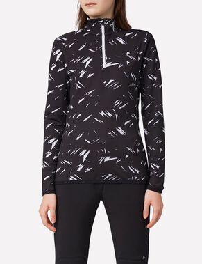 KIMBALL PRINTED SWEAT JACKET
