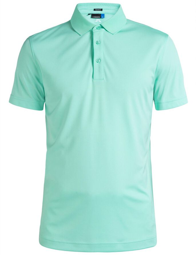 TOUR TECH REG TX JERSEY POLO SHIRT, Mint, large