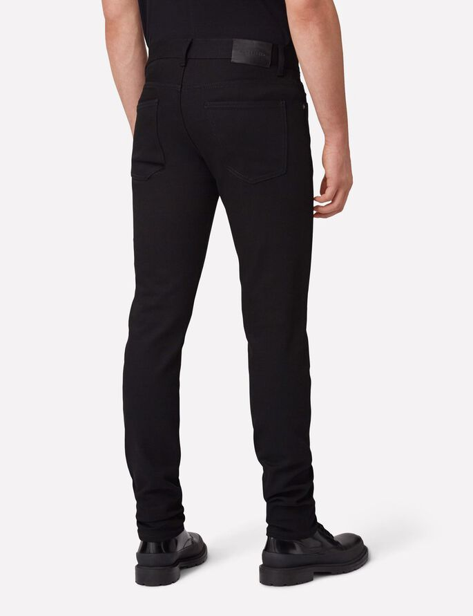 JAY SORTE SLIM FIT JEANS, Black, large
