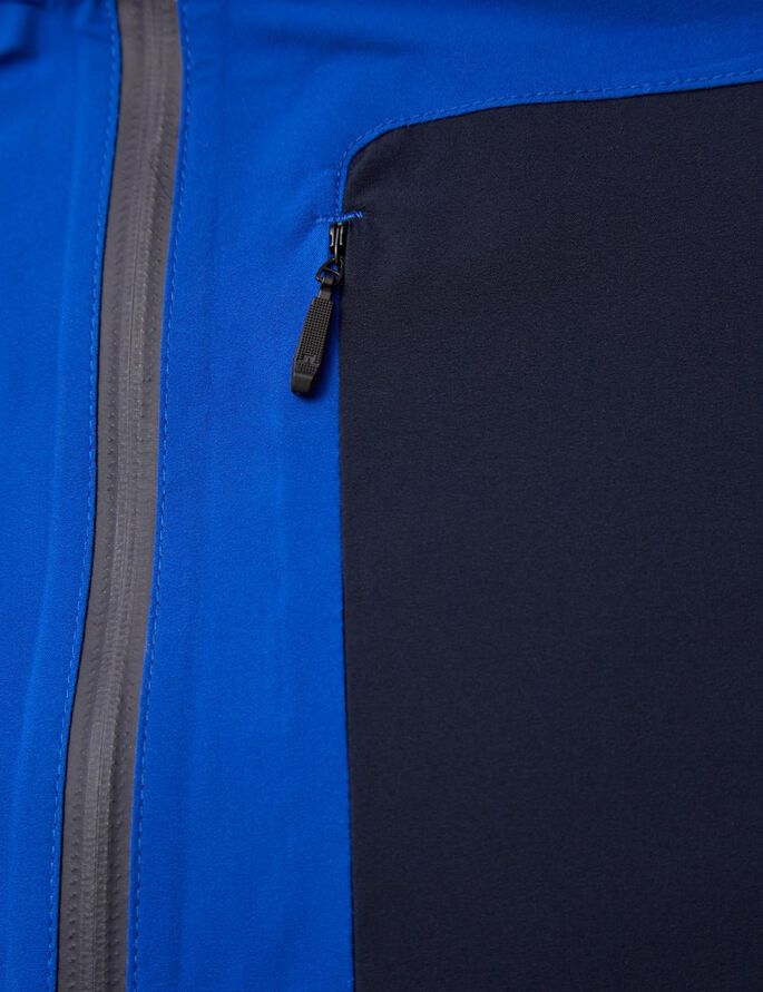 RUNNING JL 2,5PLY JACKE, Strong Blue, large