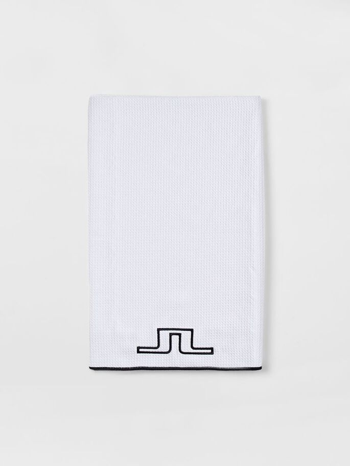 GOLF TOWEL, White, large