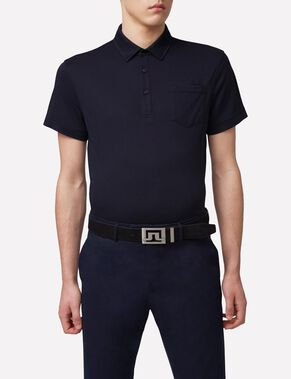 MIKAEL SLIM COTTON POLY POLO SHIRT