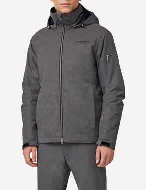 TRUULI JL 2-LAYER GREY MEL SKI JACKET