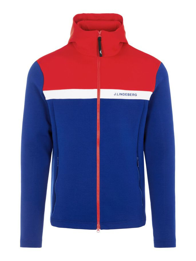 JEFF MID LAYER JACKET, Racing Red, large