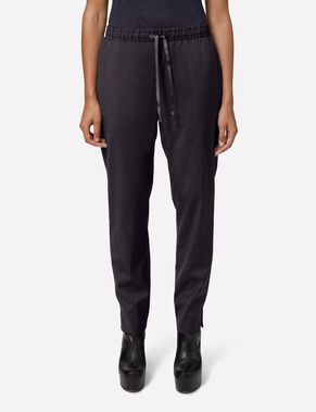 SPRING LUX WEAVE TROUSERS