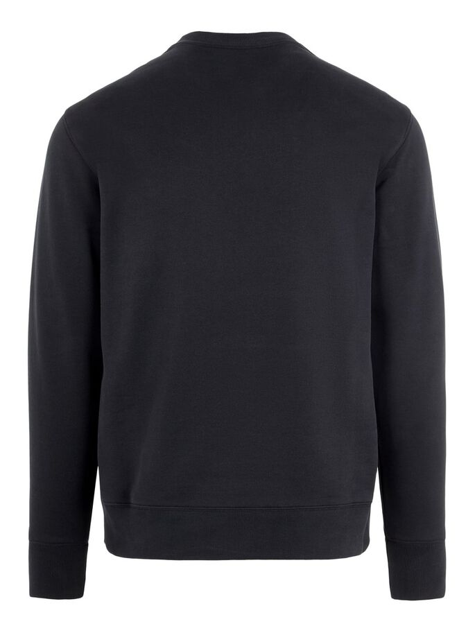 HURL SWEATSHIRT, Black, large